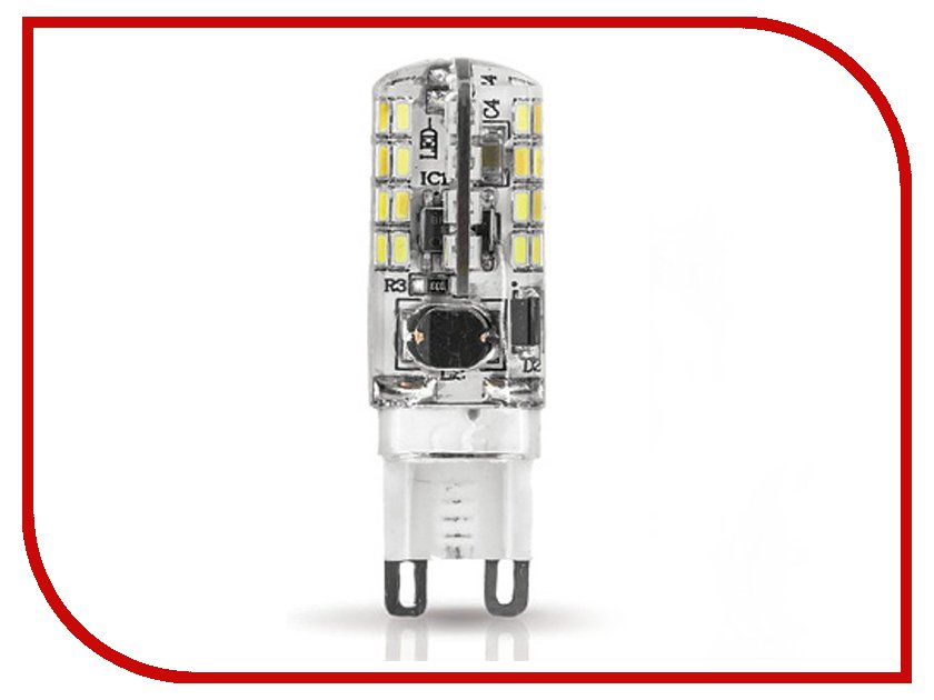 Лампочка Gauss LED 3W G9 AC85-265V 4100K SS107709203 блуза welldress