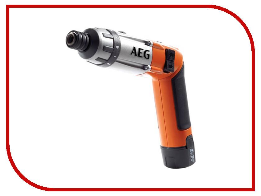 Отвертка AEG SE 3.6 Li 413165 аккумуляторная отвертка aeg se 3 6 li