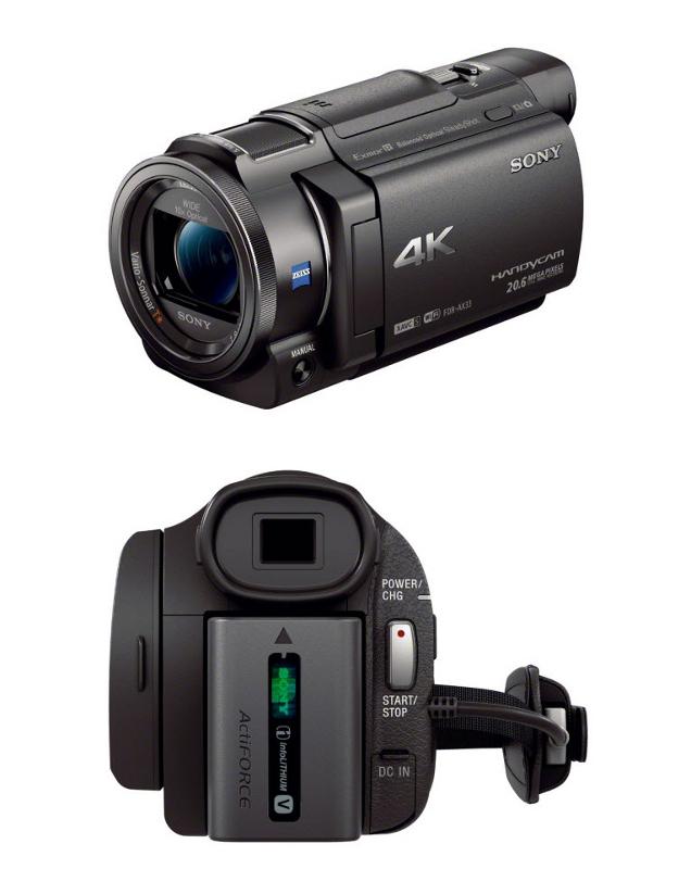 Видеокамера Sony FDR-AX33 цена и фото