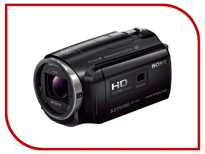 Видеокамера Sony HDR-PJ620 sony hdr as50vr