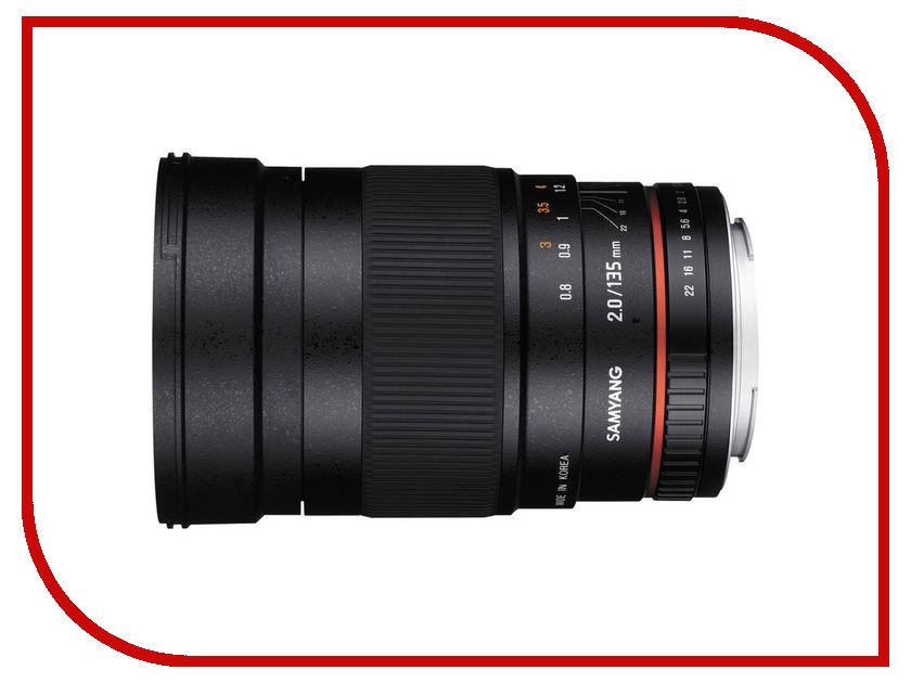 Объектив Samyang Sony / Minolta 135 mm f/2.0 ED UMC<br>
