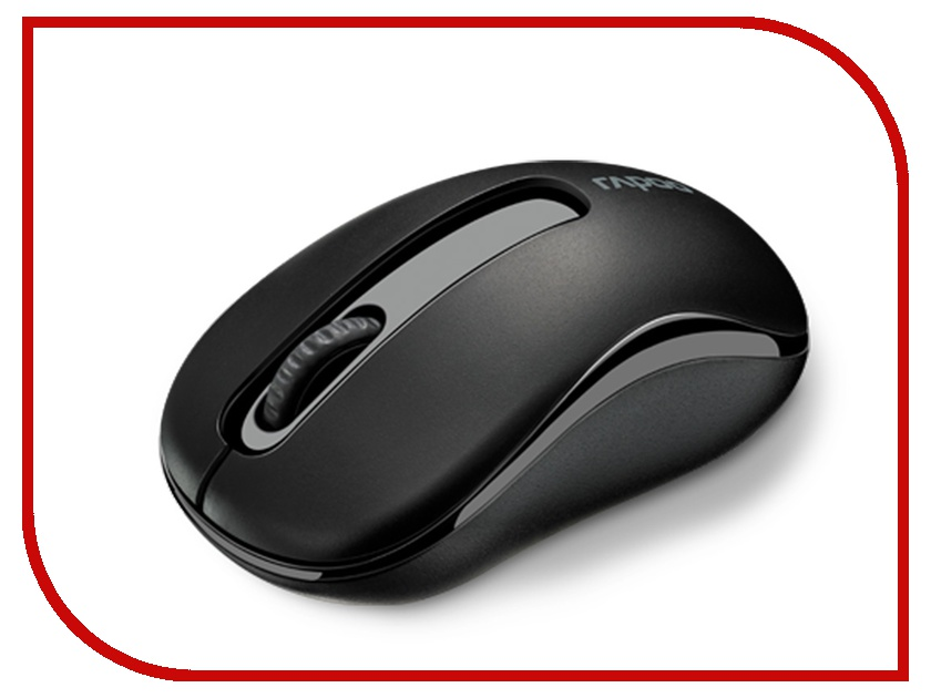 Мышь беспроводная Rapoo M10 USB Black