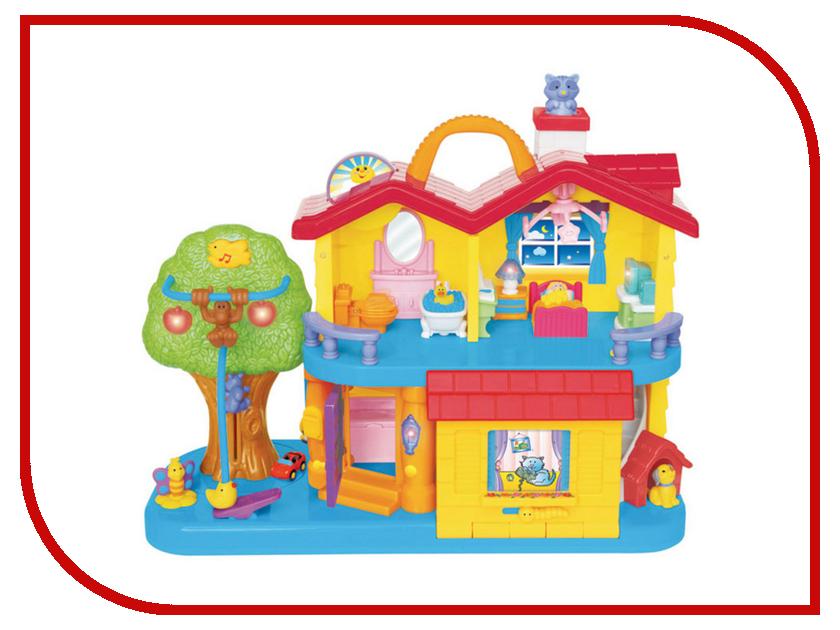 Кукольный домик Kiddieland Занимательный дом KID 032730 kiddieland набор музыкальных инструментов kiddieland