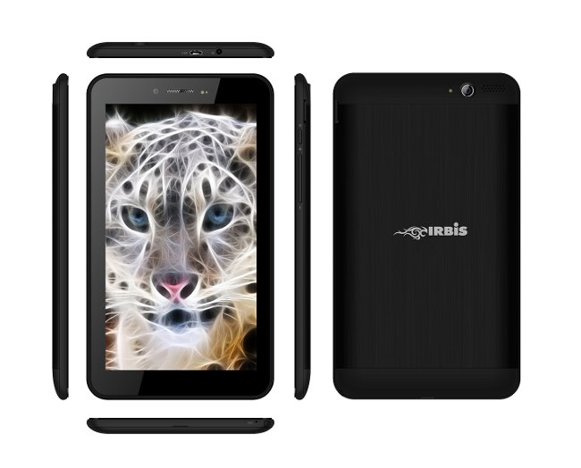 Планшет Irbis TX37 MTK8312 1.3 GHz/512Mb/4Gb/3G/GPS/Wi-Fi/Bluetooth/Cam/7.0/1024x600/Android<br>