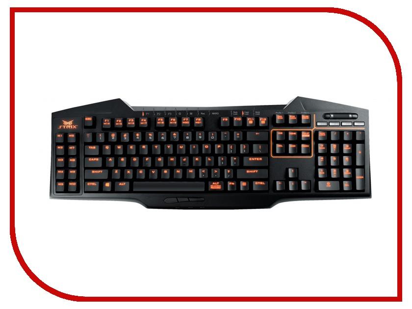 Клавиатура ASUS Strix Tactic Pro Black 90YH0081-B2RA00<br>