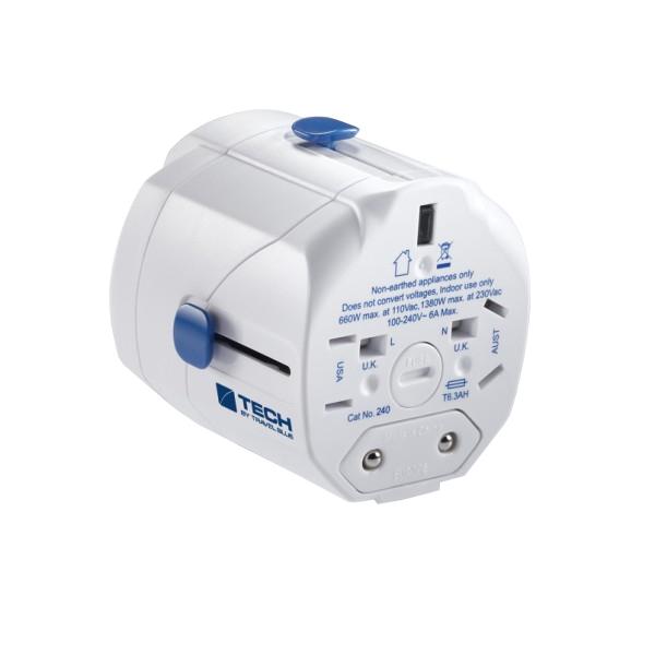 Аксессуар Travel Blue Worldwide Adaptor 240-A