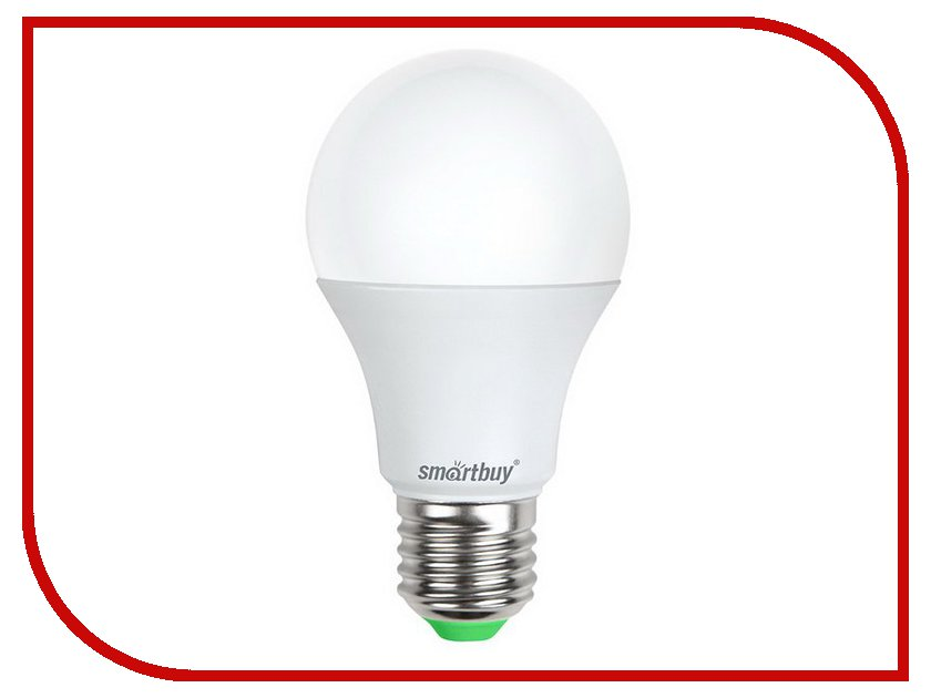 Лампочка Smartbuy A60 7W 4000K E27 SBL-A60-07-40K-E27-N лампочка экономка a60 14w e27 230v 4500k ecol14wa60230ve2745