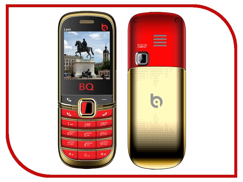 Сотовый телефон BQ BQM-1402 Lyon Gold Edition Red