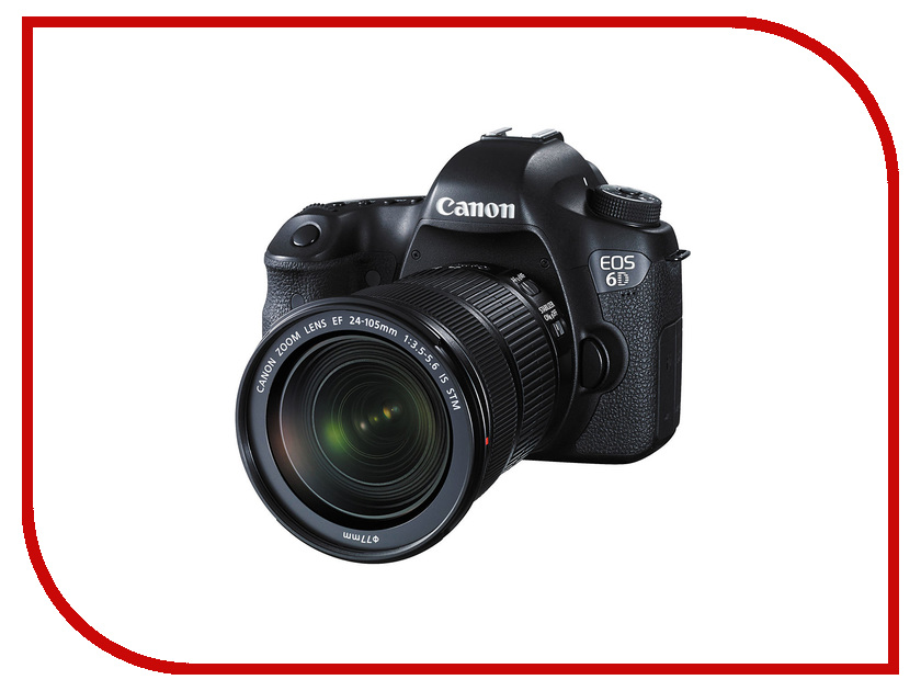 Фотоаппарат Canon EOS 6D WG Kit EF 24-105 mm IS STM адаптер canon ef eos m 6098b005