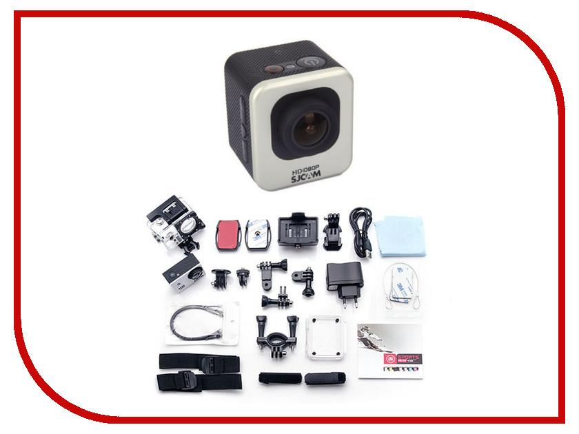 Экшн-камера SJCAM M10 CUBE Mini Silver экшн камера sjcam