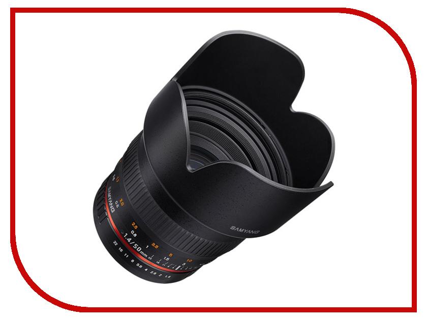 Объектив Samyang 50mm f/1.4 AS UMC Pentax KA/KAF/KAF2