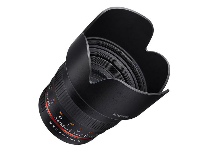 Объектив Samyang 50mm f/1.4 AS UMC Pentax KA/KAF/KAF2 цена и фото