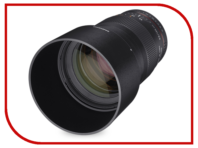 Zakazat.ru: Объектив Samyang Canon M MF 135 mm f/2.0