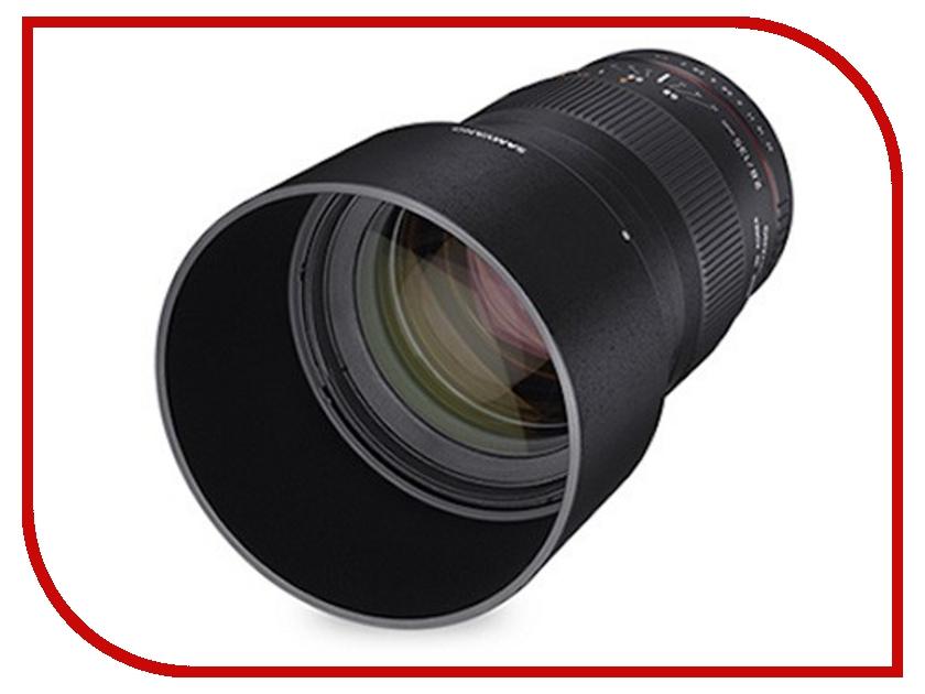 Объектив Samyang FujiFilm X MF 135 mm f/2.0