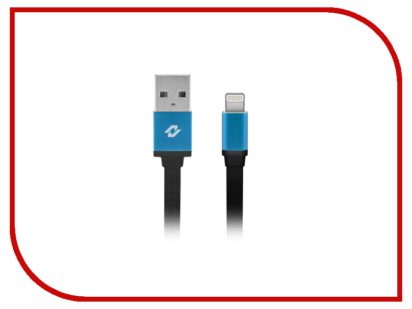 Аксессуар Neoline USB 8-pin Cable S8 for iPhone 5/5C/5S/6/6 Plus/iPad/iPod Black<br>