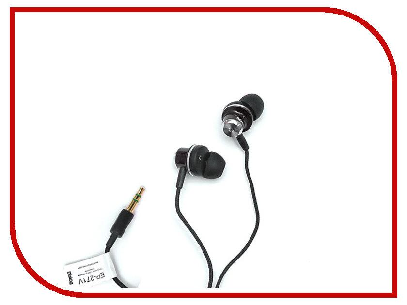 Наушники Dialog EP-271V Black<br>