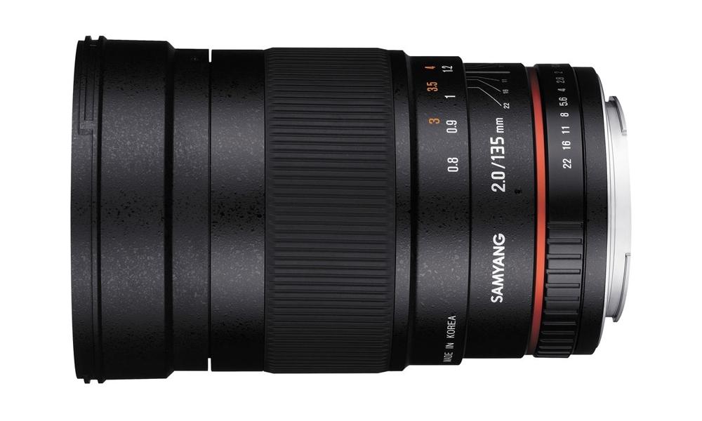 Объектив Samyang Olympus 4/3 MF 135 mm f/2.0 ED UMC цена