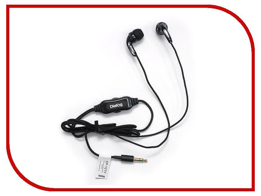 Наушники Dialog EP-121V Black<br>