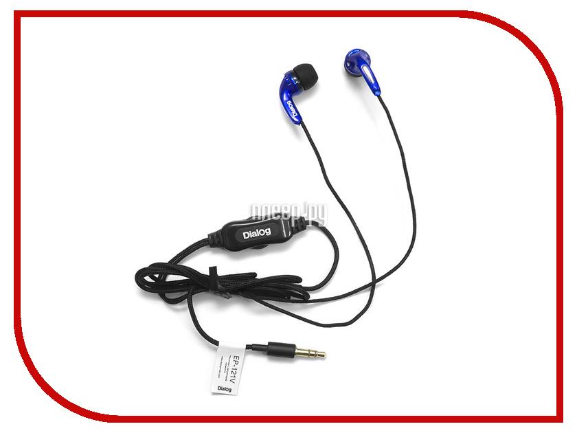 Наушники Dialog EP-121V Blue