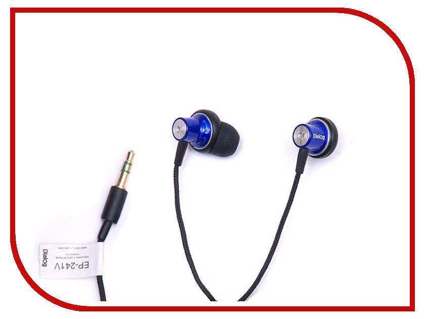 Наушники Dialog EP-241V Blue<br>
