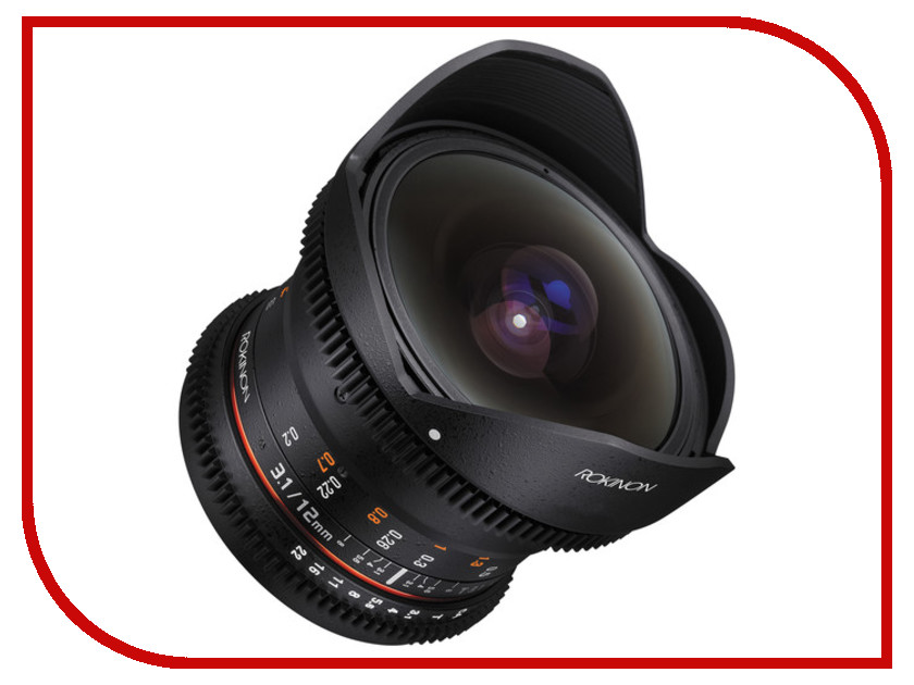 Объектив Samyang MF 12 mm T3.1 ED AS NCS VDSLR for Micro 4/3<br>