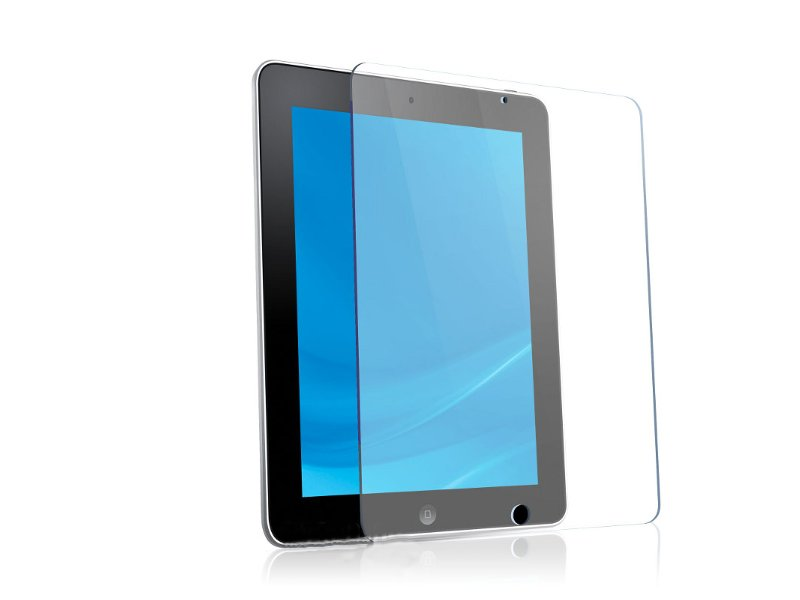 Аксессуар Защитная пленка BoraSCO для iPad Air прозрачная
