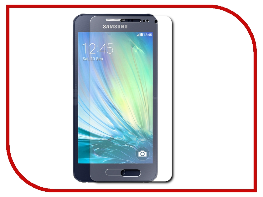 Аксессуар Защитная пленка Samsung Galaxy A3 BoraSCO прозрачная аксессуар защитное стекло samsung galaxy a3 2017 borasco full cover gold