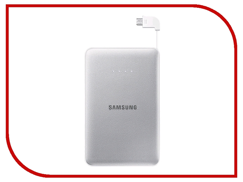 Аккумулятор Samsung microUSB 8400 mAh Silver SAM-EB-PG850BSRGRU<br>