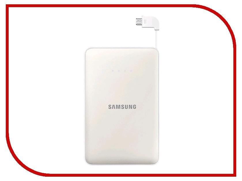 Аккумулятор Samsung microUSB 8400mAh White SAM-EB-PG850BWRGRU samsung 850 pro 256 гбайт