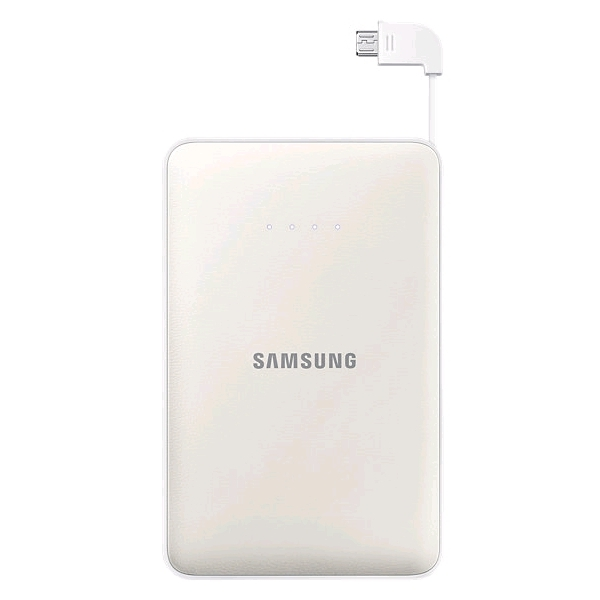 Аккумулятор Samsung microUSB 8400 mAh White SAM-EB-PG850BWRGRU