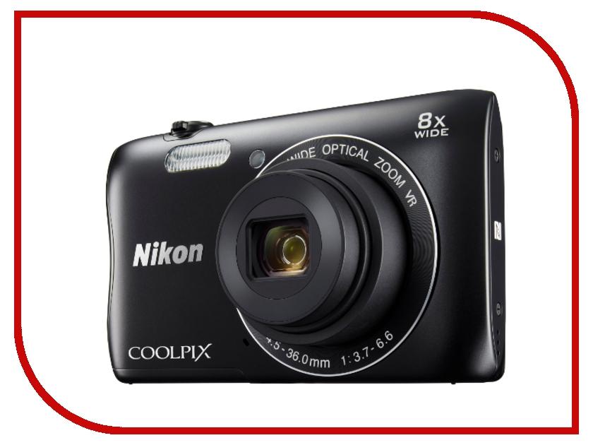 Фотоаппарат Nikon Coolpix S3700 BlackФотоаппараты<br><br>