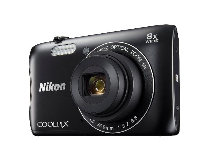 Фотоаппарат Nikon Coolpix S3700 Black
