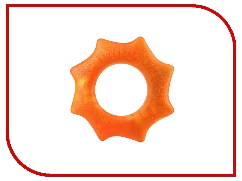 Игрушка Chameleon Changing Colorz Большое летающее кольцо Фрисби Orange 89102
