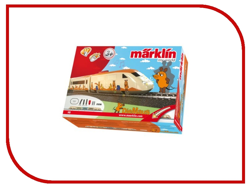Железная дорога Marklin Пассажирский Поезд DieMaus Стартовый набор 29206 от Pleer