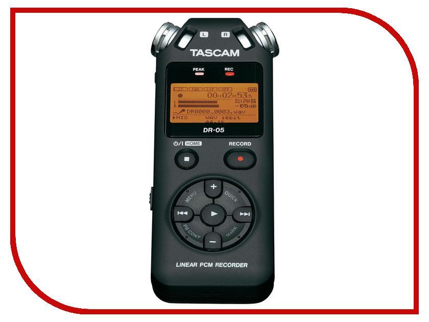 Диктофон Tascam DR-05V2 tascam tascam ss cdr200