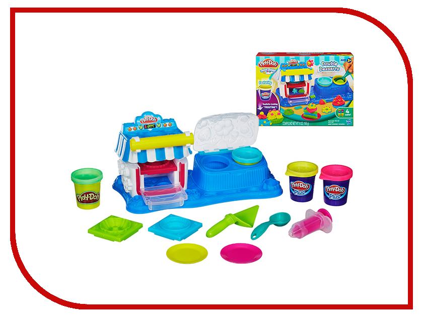 Игрушка Hasbro Play-Doh Двойные десерты A50134E24<br>