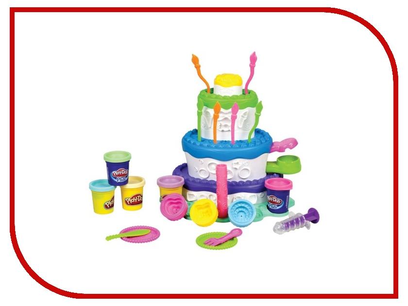 Игрушка Hasbro Play-Doh Праздничный торт A7401 игровой набор с пластилином play doh a7401 праздничный торт