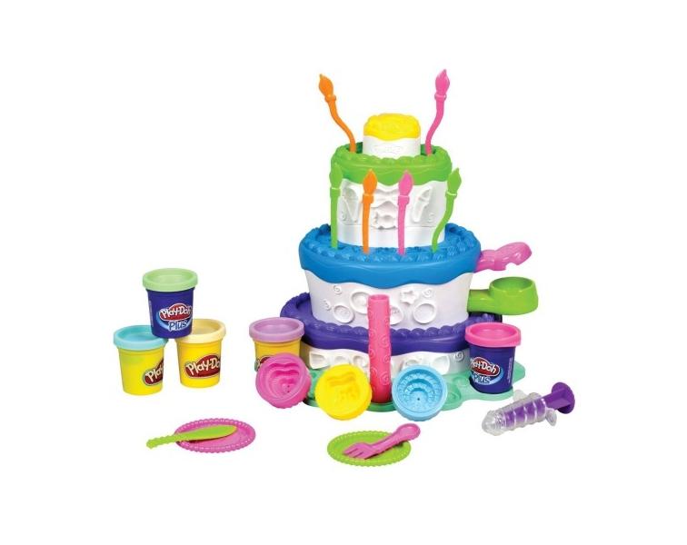 Набор для творчества Hasbro Play-Doh Праздничный торт A7401<br>