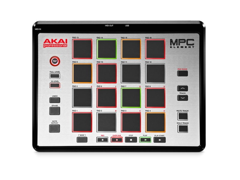 MIDI-контроллер AKAI PRO MPC Element USB от Pleer