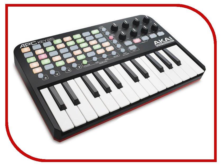 MIDI-клавиатура AKAI pro APC KEY 25 USB