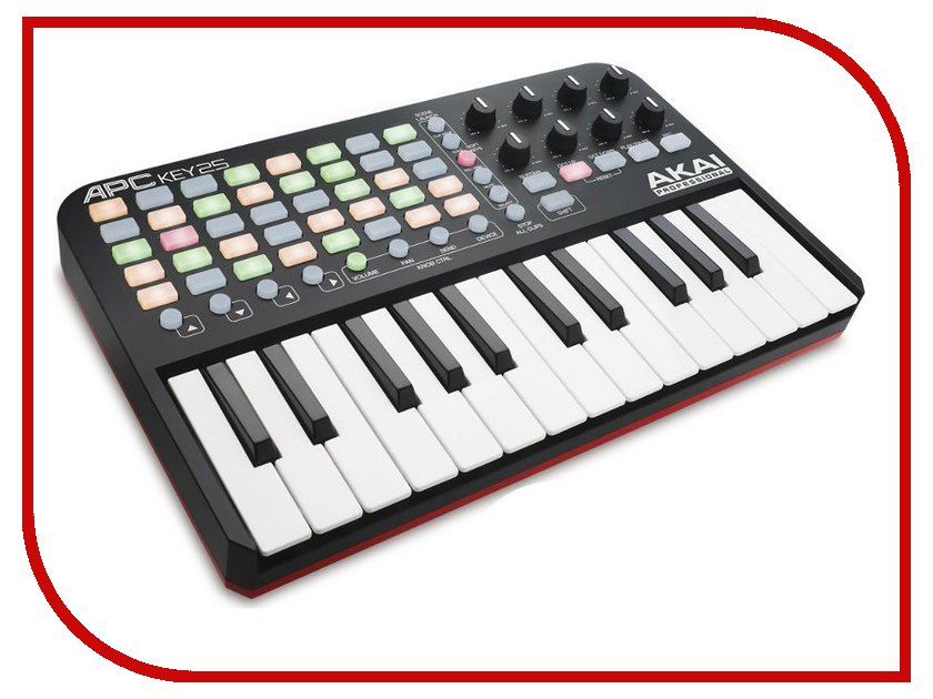 MIDI-клавиатура AKAI pro APC KEY 25 USB akai pro mpc fly usb midi