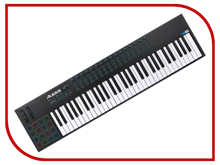 MIDI-клавиатура Alesis VI61 alesis vortex wireless
