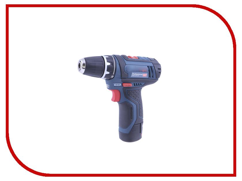 Электроинструмент Bosch GSR 12V-15 2.0Ah x2 L-BOXX 0601868109 дрель аккумуляторная bosch gsr 12v 15 fc 0 601 9f6 001