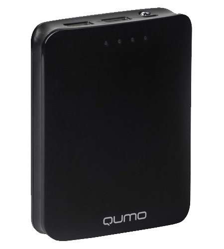 Аккумулятор Qumo PowerAid 10400 10400 mAh Black