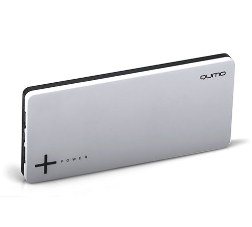 Аккумулятор Qumo PowerAid Slim Twin 9000 9000 mAh Black/White