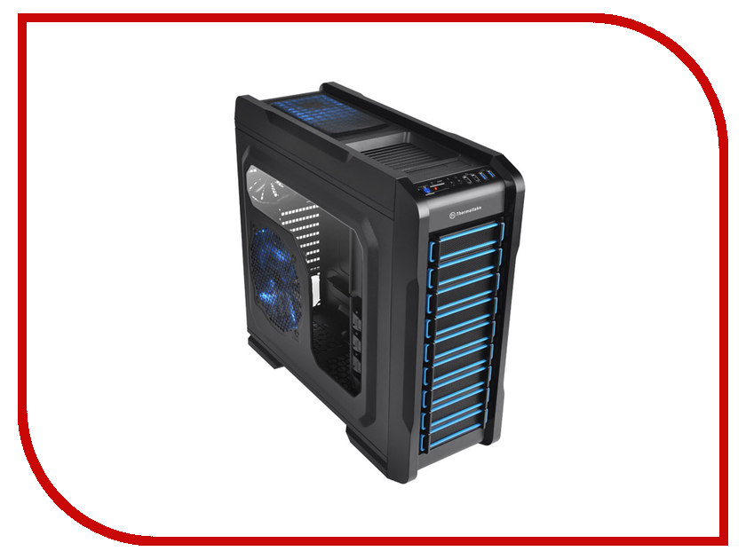 Корпус Thermaltake Chaser A71 VP400M1W2N Black<br>