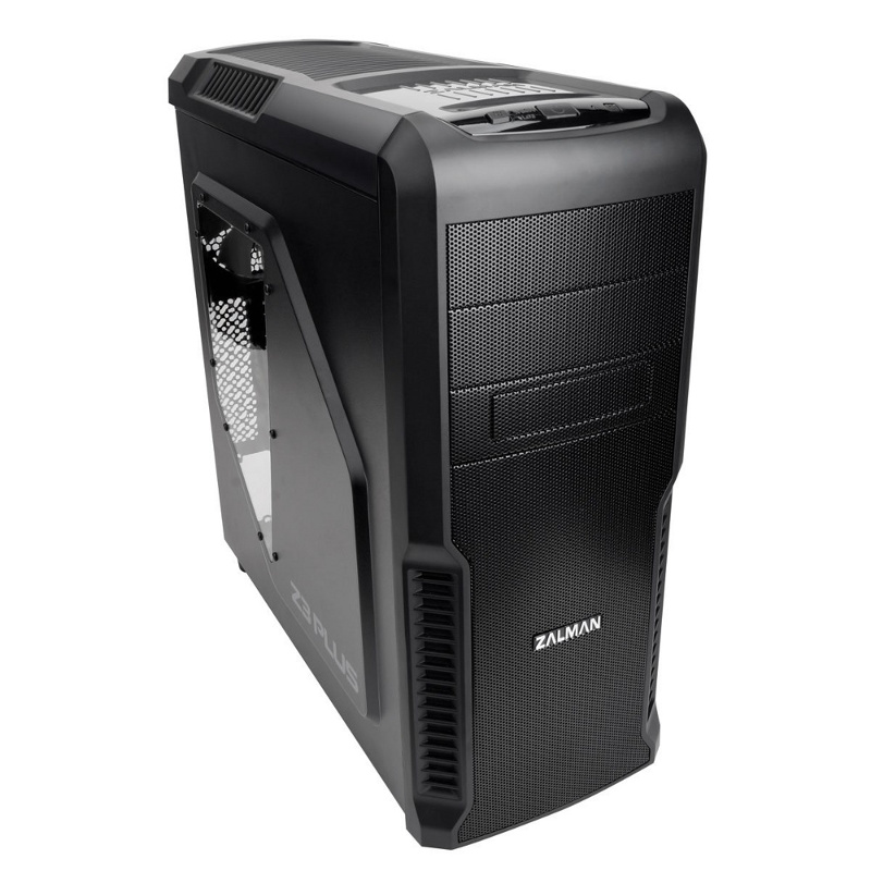 Корпус Zalman Miditower Z3 Plus Black