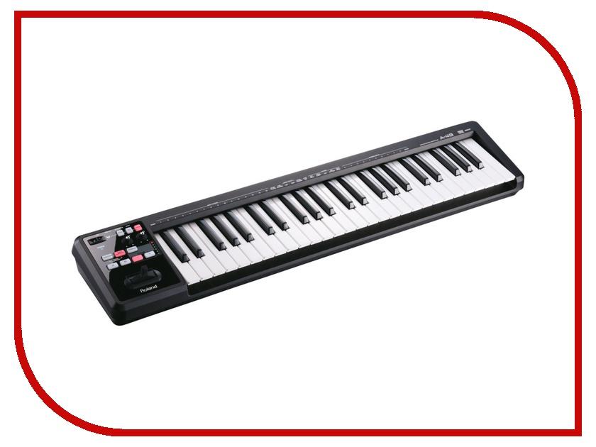 Midi-клавиатура Roland A-49 BK<br>