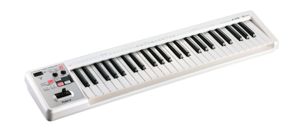 MIDI-клавиатура Roland A-49 WH roland fr 3xb wh