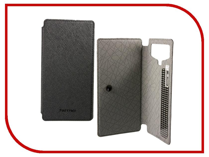Аксессуар Чехол 3.8-inch Partner Book-case универсальный Black ПР031169<br>